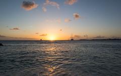 Sunset Bay (Ben_Senior) Tags: simpsonbay water aqua sintmaarten saintmartin sea seascape landscape sunshine clouds cloud bluesky blue orange yellow rocks rock beach dutchcaribbean dutchwestindies caribbean caribbeansea bensenior nikond7100 nikon d7100 travel tourist tourism paradise island