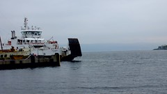 Scotland west coast car ferry Loch Shira arriving at Largs 21 June 2017 video by Anne MacKay (Anne MacKay images of interest & wonder) Tags: scotland west coast caledonian macbrayne car ferry loch shira arriving largs town slipway xs1 21 june 2017 video by anne mackay