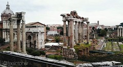 Roma Nikon D3100 The Imperial Forums. (Ifeelintoher) Tags: roma foriimperiali architettura rome history