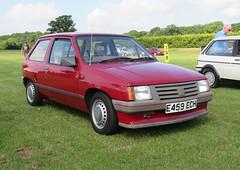 1988 Vauxhall Nova 1.2 Merit (Spottedlaurel) Tags: vauxhall nova