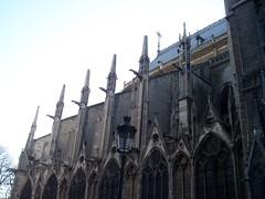 100_2113 (jrucker94) Tags: paris france europe travel vacation landmark notredamecatheral notredame catheral church catholic iledelacite cathedralofourladyofparis architecture building sculptures romanesque frenchgothic