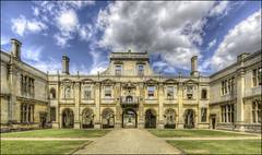 Kirby Hall 8 (Darwinsgift) Tags: kirby hall northamptonshire hdr photomatix english heritage elizabethan stately house home nikkor 19mm f4 pce nikon d810 architecture history