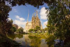 La Sagrada Familia (bhammertime) Tags: 8mm europe t3i canon 2017