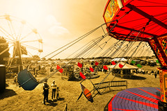 Selective brain input (PentlandPirate of the North) Tags: outdoorshows cheshiresteamfair daresbury flyingchairs