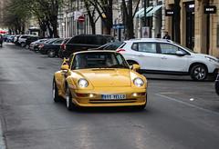 Czech Rep. Individual - Porsche 993 GT2 (PrincepsLS) Tags: czech republic individual license plaet spotting prague porsche 993 gt2 911yello