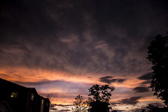 191/365 After The Storm (zodia81) Tags: 365project 365year2 dailyphoto sunset storm afterthestorm morgantown westvirginia wv cloudsstormssunsetssunrises