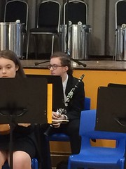 Waiting to Play (Dark Dwarf) Tags: clarinet 2017 concert summer orchestra school
