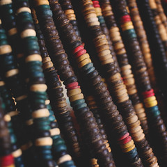 191 : 365 : VI (Randomographer) Tags: project365 jewelry necklace souvenir bead beaded string wood colorful 365 191 vi
