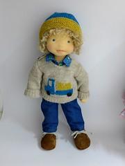 AJ (Dearlittledoll) Tags: waldorfdoll waldorf slowdoll dearlittledoll dollmaker steinerdoll slowdollmaking handmadedoll stoffpuppe