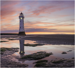 After Dusk (karlpage) Tags: new brighton lighthouse landscape landscapephotography perch rock wiral wirral