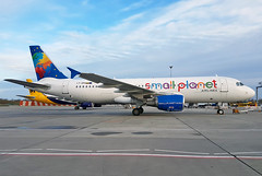 Small Planet Airlines - LY-SPH - London Gatwick Airport (LGW/EGKK) (Andrew_Simpson) Tags: lysph smallplanetairlines smallplanet airbus a320200 a320 320200 320 fwwdc b2363 sphae xu704 xu708 aircraft airplane aeroplane plane airside apron egkk lgw londongatwickairport londongatwick gatwickairport gatwick westsussex sussex unitedkingdom uk greatbritian gb avgeek avporn planepic planegeek planephoto aviationgeek