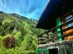 Chamonix (denismartin) Tags: denismartin alps alpes montblanc hautesavoie chamonix letour vallorcine lesbossons france mountains mountain architecture chalet village spring