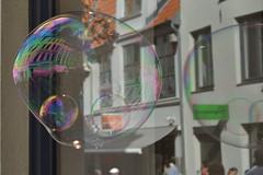 windows wednesday (nirak68) Tags: lübeck schleswigholsteinkreisfreiehansestadtlübeck deutschland ger 189365 hüxstrase fest hüxstrasenfest seifenblasen soapbubbles sommer 2017ckarinslinsede fenster spiegelung window reflection
