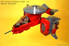 ICC Avacyn (icycruel) Tags: lego moc outpost charlie scifi vehicle gunship military futuristic vtol recon