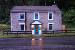 House with blue windows (on2alan) Tags: birnam