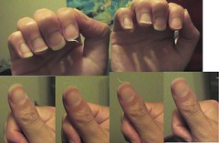 DSCF4318 (4) (ongle86) Tags: hands fingers nails fetichisme biting ongles rongés mains doigts thumb pouce sucé sucking