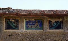 House of the Skeleton - Herculaneum, Italy (SomePhotosTakenByMe) Tags: houseoftheskeleton hausdesskeletts haus house outdoor urlaub vacation holiday italy italien stadt city ruin ruine ercolano herculaneum herkulaneum mosaic mosaik
