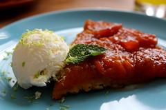 14/365 Apricot Tarte Tatin (cheesemoopsie) Tags: tart tarte apricot tartetatin icecream yummy