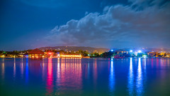 Jamaica_348 (allen ramlow) Tags: montego bay jamaica off shore night long exposure sea ocean water clouds lights sony a6500