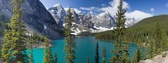 Twenty Dollar View (kirknelson) Tags: canada banff morainelake