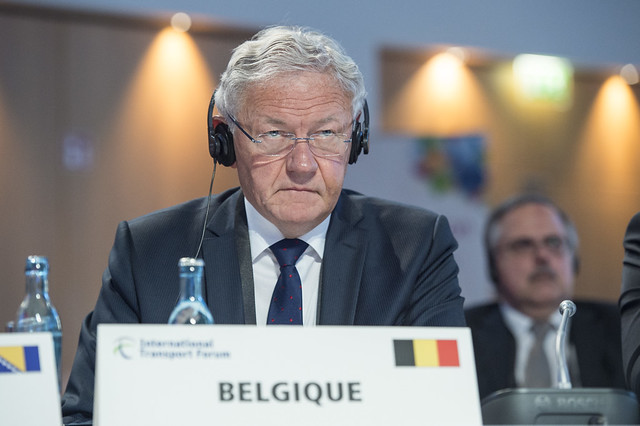 François Bellot at the Closed Ministerial