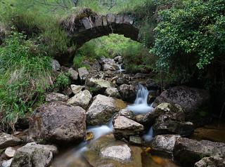 Pequeño puente sobre El Vidular