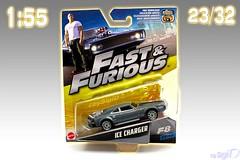 1-55_Mattel_Fast_Furious_23of32_Dodge_Ice_Charger (Sigi D) Tags: 155 mattel diecast fast furious fastfurious sigid moviecar furious8 ice dodge charger dominic toretto
