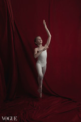 Hippocrene (the side projects by dews) Tags: girl dance artistic posing redbackground younggirl flexibility