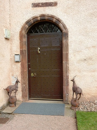 A door, Fyvie Castle
