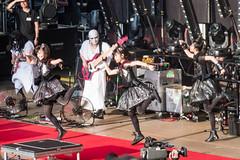 BABYMETAL at Shoreline Amphitheatre #8 (satoshikom) Tags: panasonicdmczs100 babymetal shorelineamphitheatre heavymetal concert yuimetal moametal sumetal