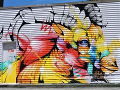 splash of colour (SqueakyMarmot) Tags: vancouver mountpleasant publicart mural