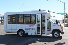 La Paz County Transit (So Cal Metro) Tags: bus metro transit lapaz lapazcounty parker arizona ford aerolite eseries e350 econoline edn enc eldorado eldoradonational cutaway minibus