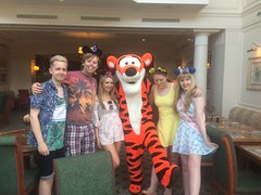 Pics from phone (Elysia in Wonderland) Tags: disneyland paris 2017 elysia elysias birthday 25th 25 anniversary holiday snapchat disney hotel inventions lunch characters meet greet tigger lucy becca pete joe