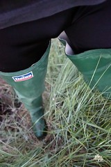 Daiwas at Dusk (essex_mud_explorer) Tags: daiwa coarsefisher green gates uniroyal vintage rubber thigh boots waders watstiefel cuissardes rubberboots rubberwaders rubberlaarzen gummistiefel thighboots thighwaders