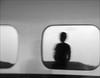 F_DSC5061-1-BW-1-Nikon D800E-Nikkor 28-300mm-May Lee 廖藹淳 (May-margy) Tags: 憶 maymargy bw 黑白 人像 剪影 反射 火車 車廂 車窗 模糊 散景 街拍 streetviewphotographytaiwan 線條造型與光影 linesformandlightandshadow 天馬行空鏡頭的異想世界 mylensandmyimagination 心象意象與影像 naturalcoincidencethrumylens humaningeometry 幾何 線條 台中市 台灣 中華民國 fdsc50611bw1 portrait train window reflection blur bokeh taichungcity nikond800e nikkor28300mm maylee廖藹淳 心象攝影 心象