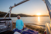 Lake Nacimiento Sunset (jimsheaffer) Tags: lakenacimiento sunset heritageranch heritageranchpasorobles flashphotography nikond750 nikkor1835mmf3545gedlens wideanglelens nikonwideangle centralcalifornia winecountry fullframe tailgate tailgateparty toyota toyotatundra ladderrack