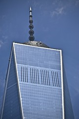 Top of the Tower (tim.perdue) Tags: nyc new york city vacation 2017 big apple metropolis lower manhattan world trade center wtc freedom tower 911 memorial september 11th downtown urban top skyscraper building architecture