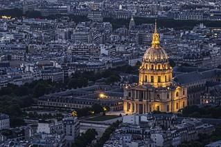 Église du Dôme or Chapelle royale des Invalides, Paris, France