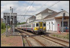 NMBS 646 + 648 - R 5032 (Spoorpunt.nl) Tags: 18 juni 2017 treinstel ms66 klassiek motorwagen 646 648 stoptrein trein r 5032 station gare spa