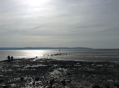 West Kirby (Lydie's) Tags: westkirby beach shore coast northwales people marker sublime rocks