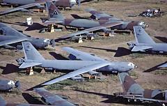 B52 AMARC 92566 (TF102A) Tags: kodachrome aviation aircraft amarc amarg masdc b52 92566