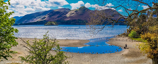 Catbells from across Derwent Water.