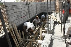 Construction of DEWATS (Jiyan Foundation) Tags: jiyan foundation humanrights kurdistan iraq irak chamchamal healinggarden garden therapy water recycling sustainability borda dewats watertreatment preservation rehabilitation
