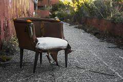 Lonely Chair (Victor Lasheras Photography) Tags: abandoned abandonada abandonado chair silla sillon sofa urbex explore canon 700d