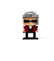 Lego Doctor Who Brickheadz (JACKATTACKS1701) Tags: lego doctor who peter capaldi sonic sunglasses screwdriver 12