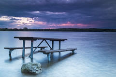 Stoney Creek Metropark (Tommy-Massa) Tags: canon 5d mark4 summer outdoor sunset michigan lake sky colors water long exposure 2470 l lens flickr picture photo park earth vivid cool