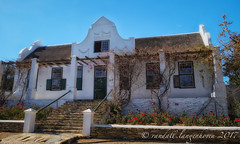 Tulbagh Winter in July 2017 80 (WITHIN the FRAME Photography(5 Million views tha) Tags: capedutch southafrica windows gable design architecture porch stairway vintage country tulbagh travels street fuji fujinon fujilove