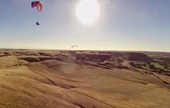 Paragliding, Ant Hill, Hart Park, Bakersfield, CA