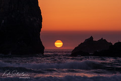 Sacred Sunset (Seabass223) Tags: oregon canonbeach sunset ocean pacific