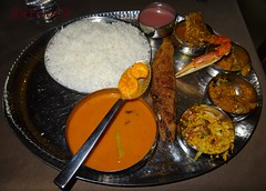Fish Curry Rice Thali (Joegoaukfishcurry2) Tags: joegoauk goa ritz classic fish panjim